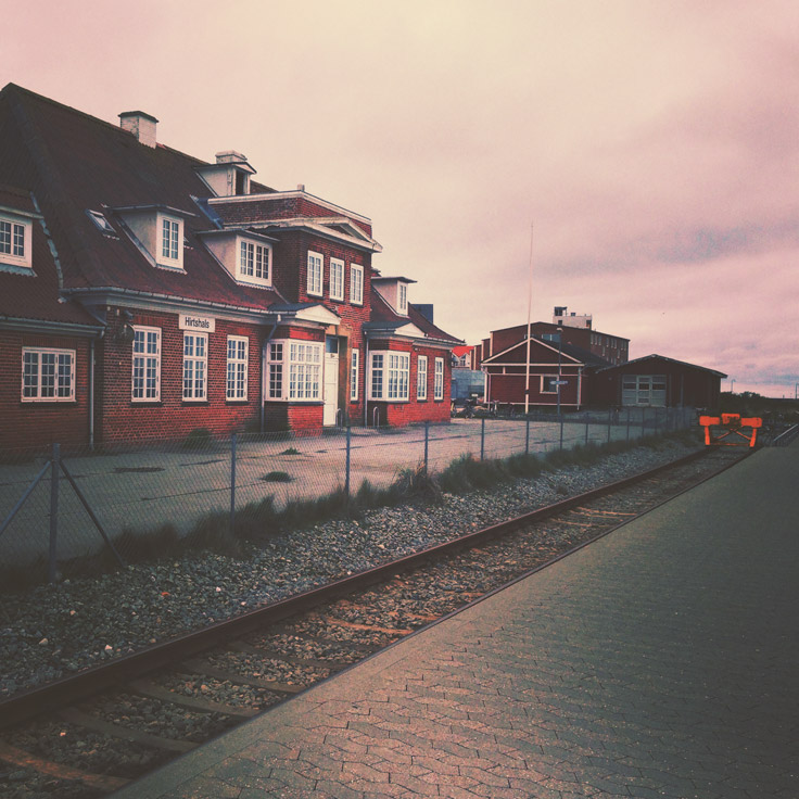 Gare de Hirtshals, Danemark