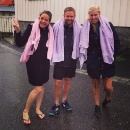 Mes hôtes norvégiens à Larvik, Norvège