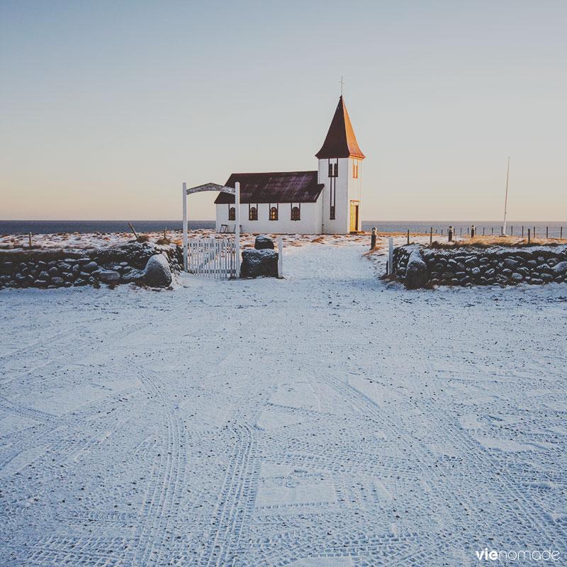 Snaefellsnes, église en Islande