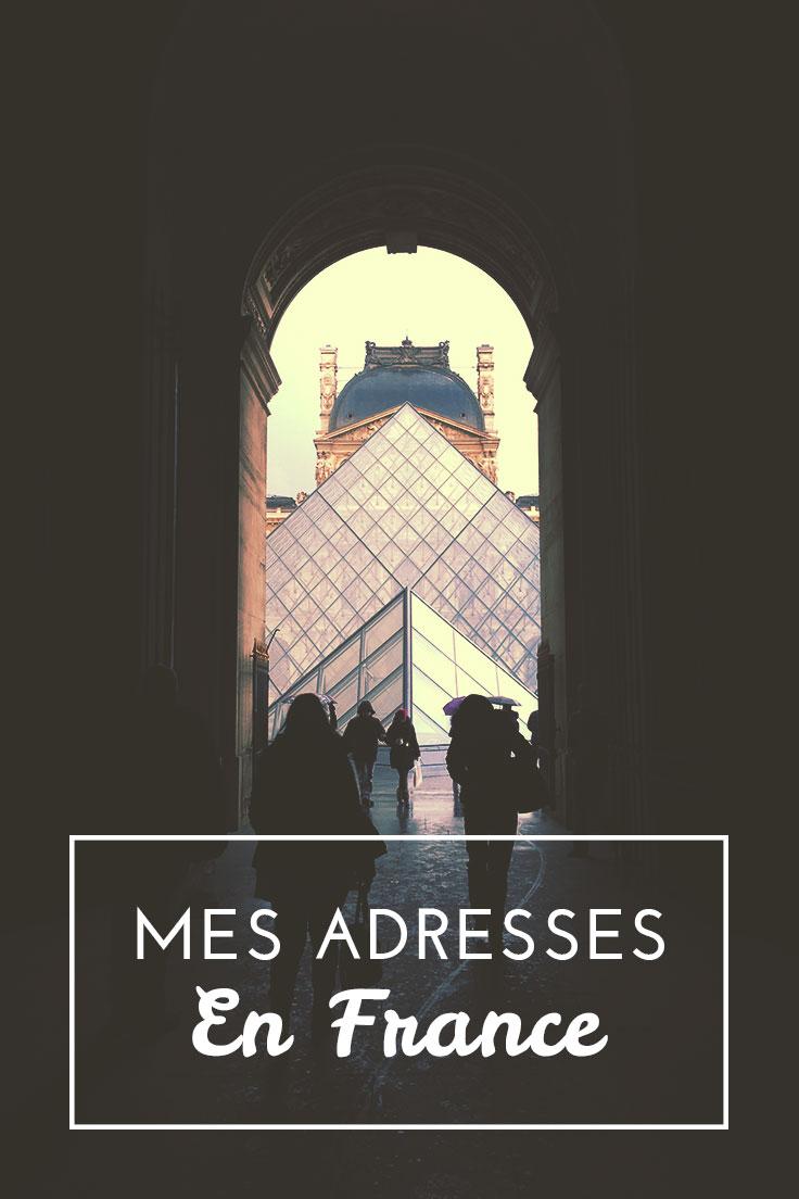 Mes Bonnes Adresses en France