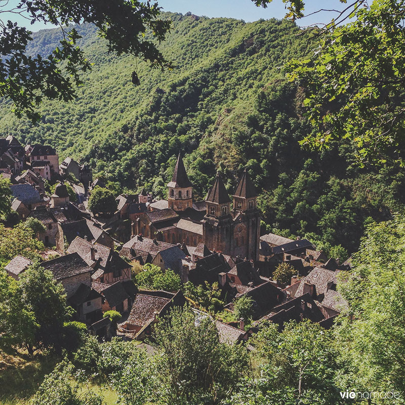 Village de Conques, patrimoine UNESCO