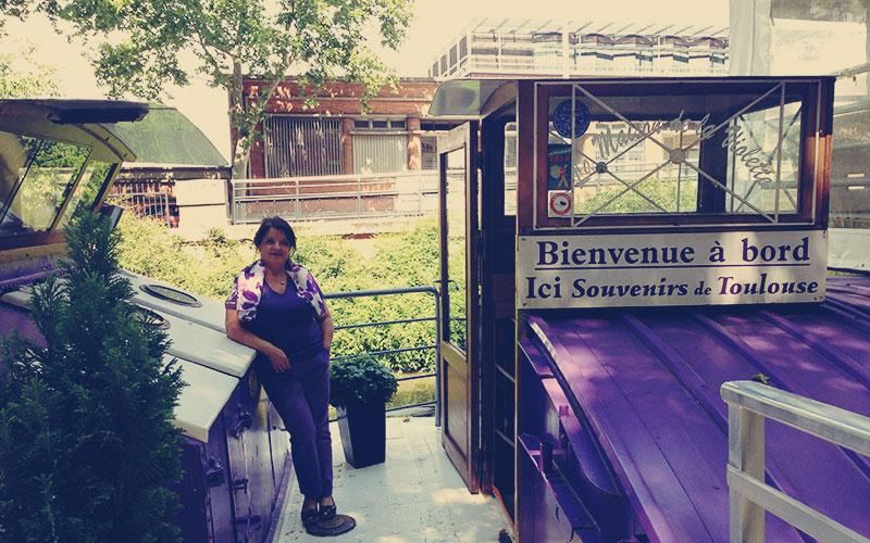 Péniche Maison de la Violette, Toulouse