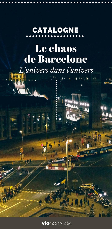 Le chaos de Barcelone et de Las Ramblas