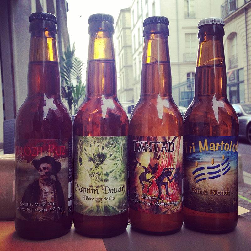 Bières bretonnes au Ker Breiz