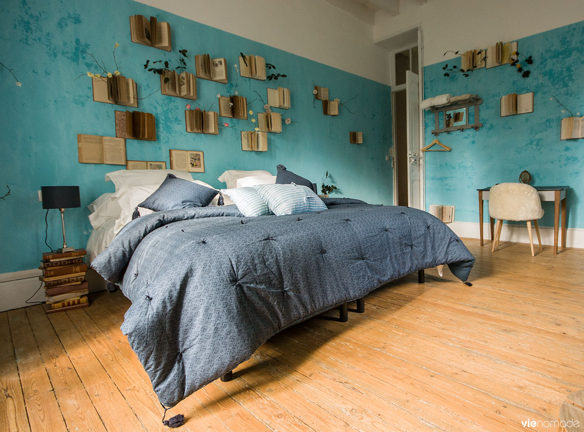 Dormir à Nantes, à La Guilbaudière: maison d'hôtes insolite