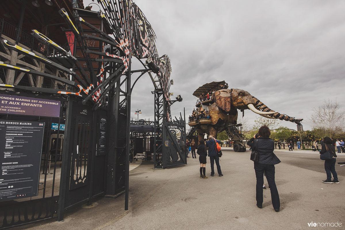 Les machines de l'île de Nantes