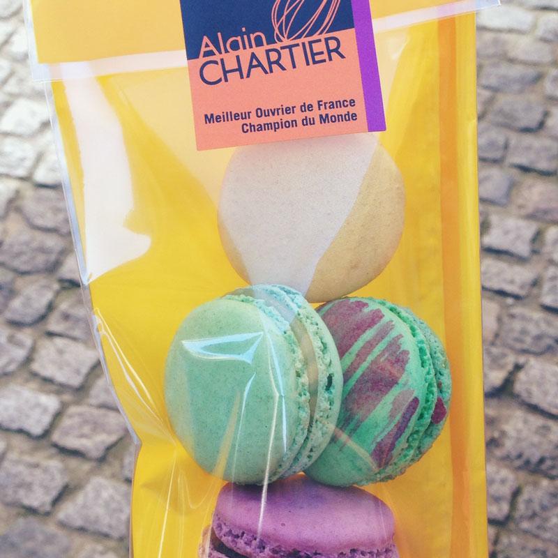 Les macarons d'Alain Chartier à Vannes