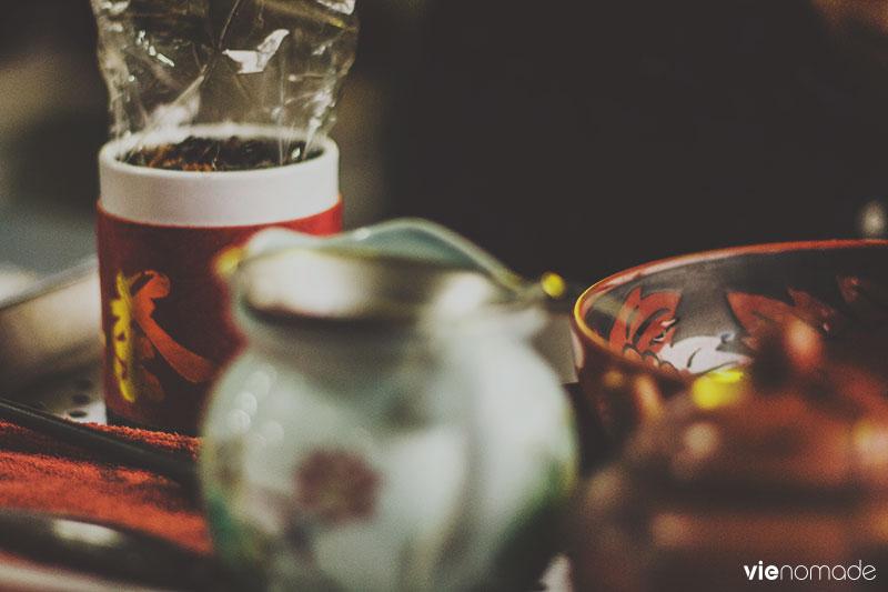 Boire un oolong à Taipei