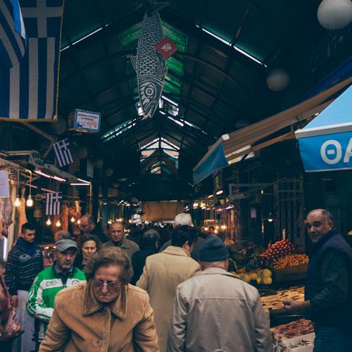 Marché Central de Thessalonique (Modiano-Kapani)