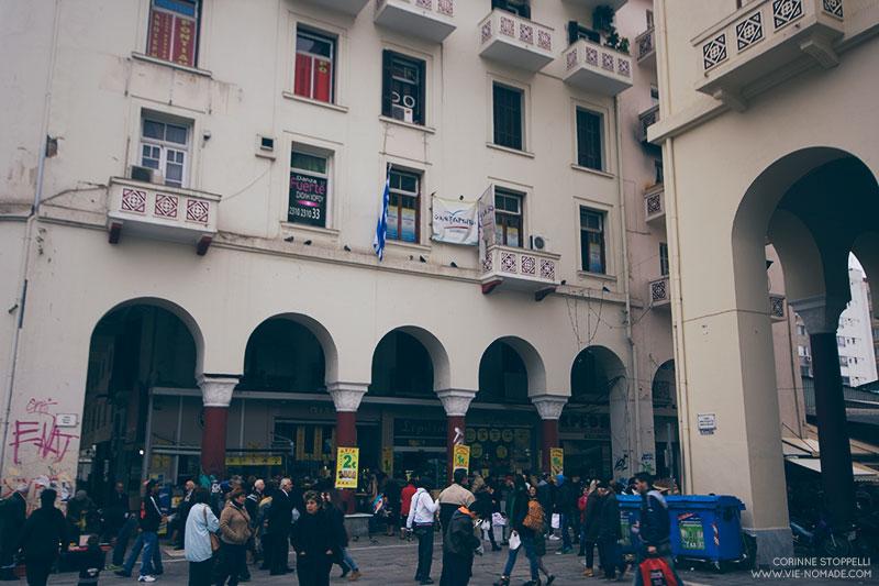 Marché de Thessalonique