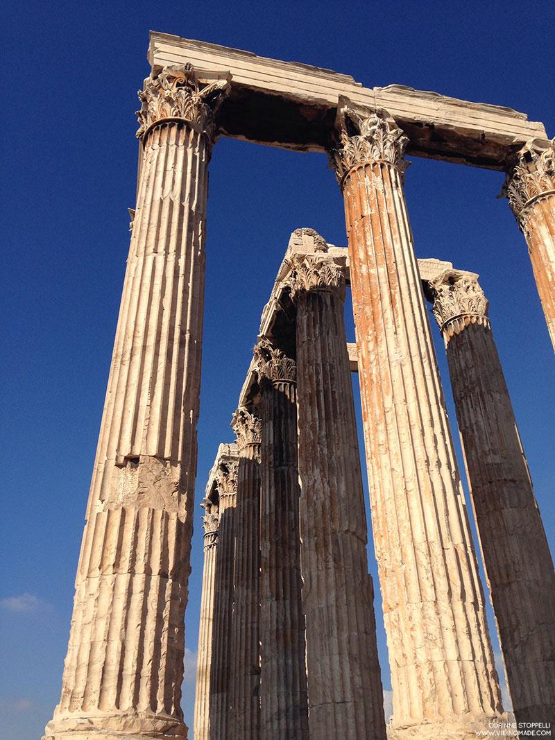 Olympieon, temple de Zeus à Athènes
