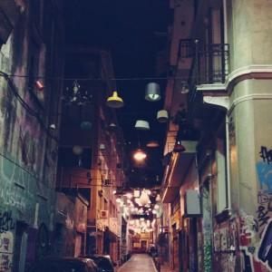 Art de rue, quelque part dans Psirri