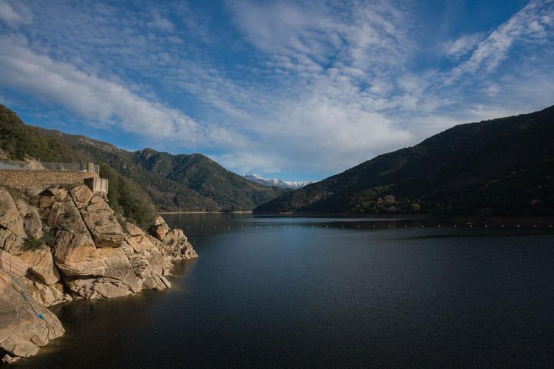 Barrage de la Tolla, Corse