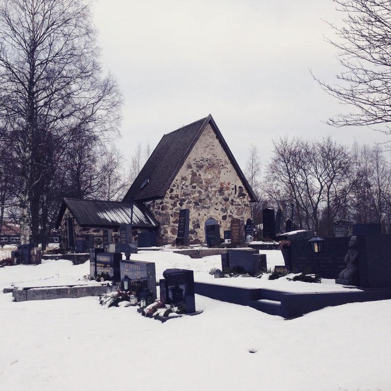 Cimetière à Kokemäki
