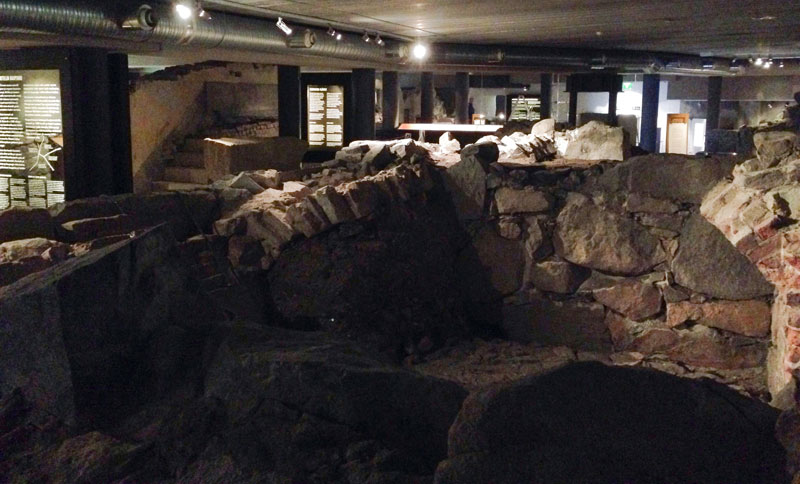 Turku, musée d'histoire et d'art contemporain