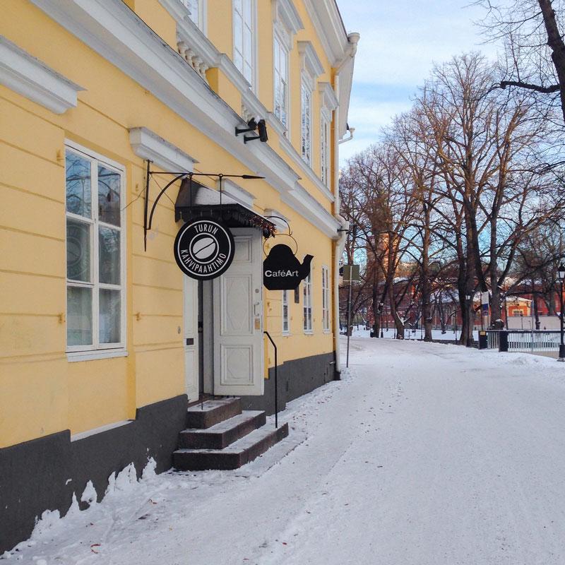 Turku: le CaféArt