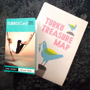 Turku Card et Treasure Map