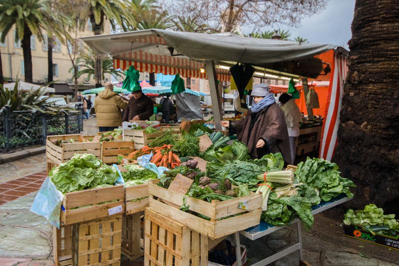 Marché d'Ajaccio, Corse