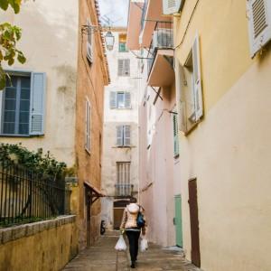 Une rue d'Ajaccio