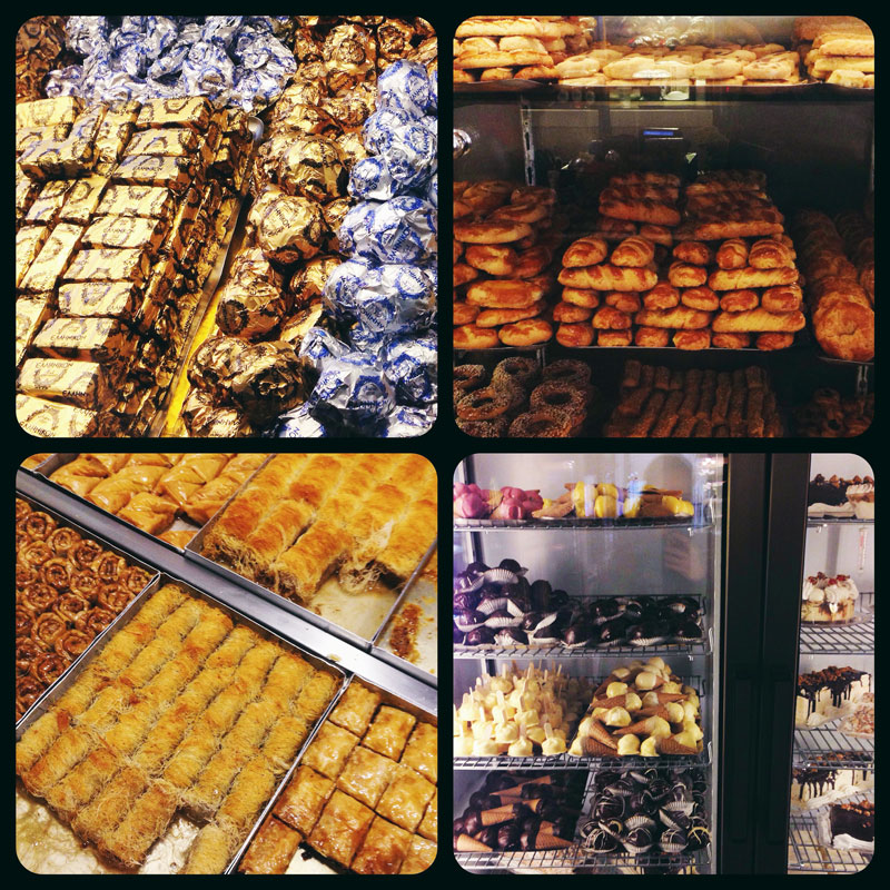 Pâtisserie Ellinikon à Thessalonique