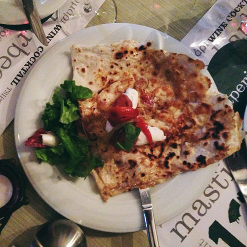 Manger en Grèce: Macédoine