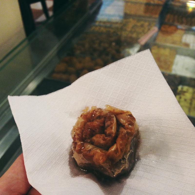 Pâtisserie Ellinikon à Thessalonique: phyllo