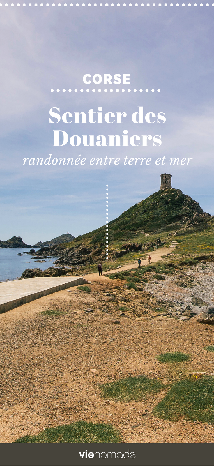 Randonner en Corse: le Sentier des Douaniers