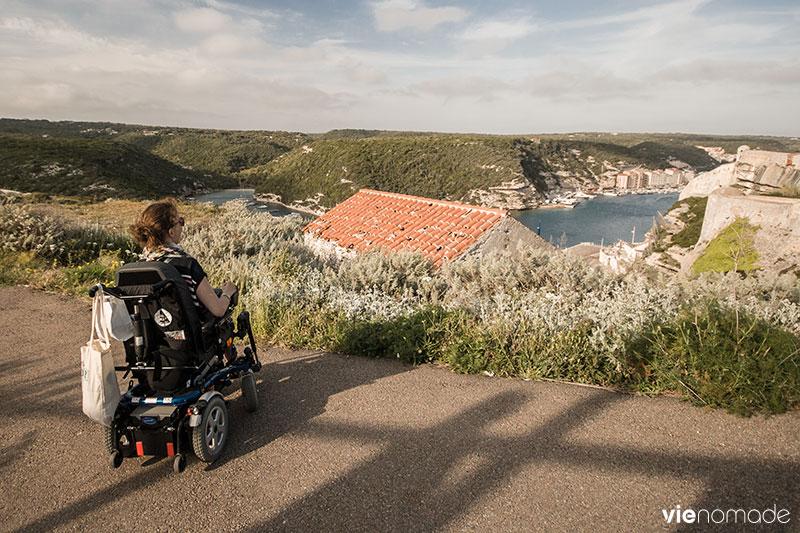 Audrey Barbaud, voyage et handicap