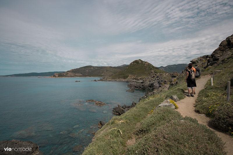 Îles Sanguinaires, randonnée