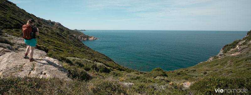 Vue du Sentier des Douaniers, Corse
