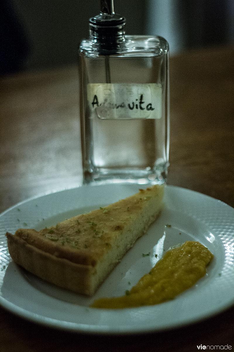 Fiadone et aquavita, A Pignata