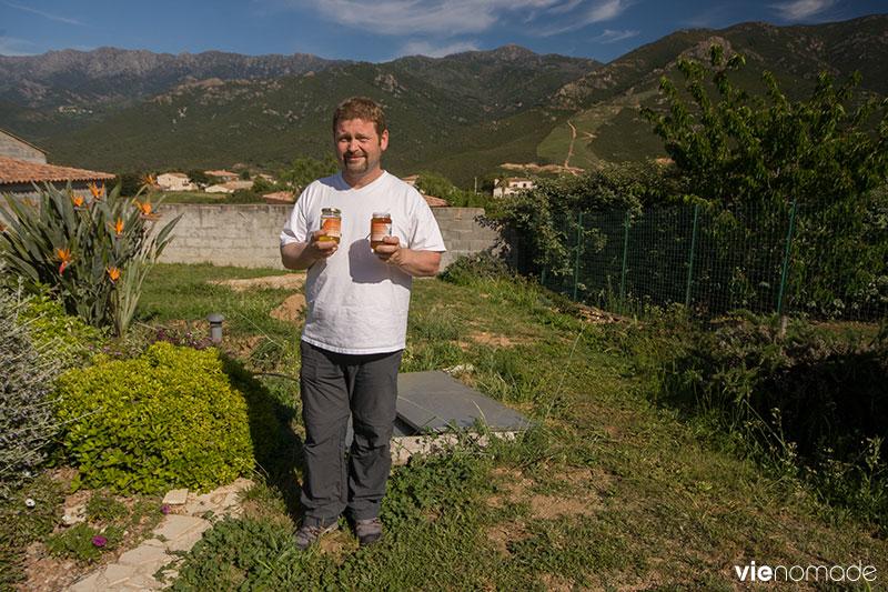 Christophe Barbaras, apiculteur corse