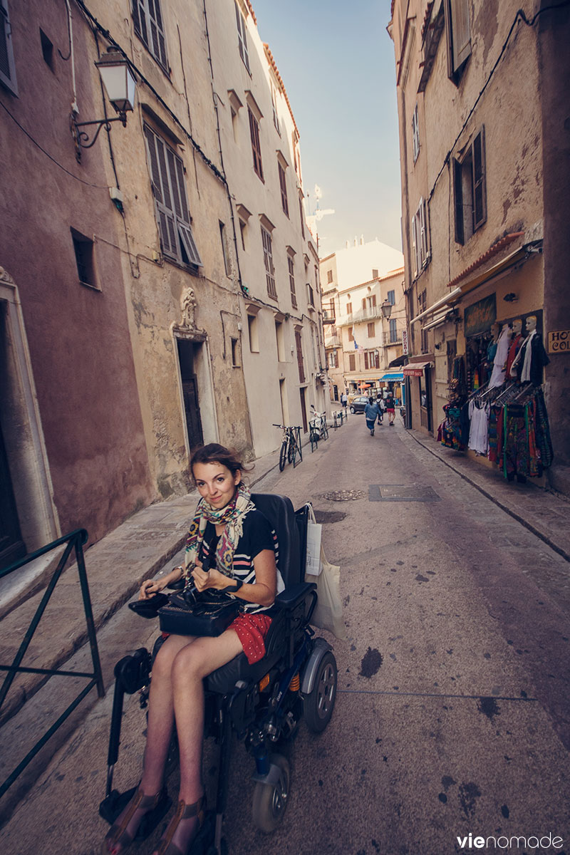 Audrey Barbaud, handi-voyageuse