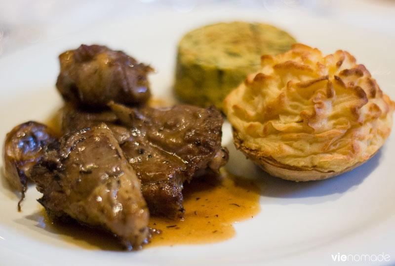Manger à Ajaccio, le restaurant Auberge Napoléon