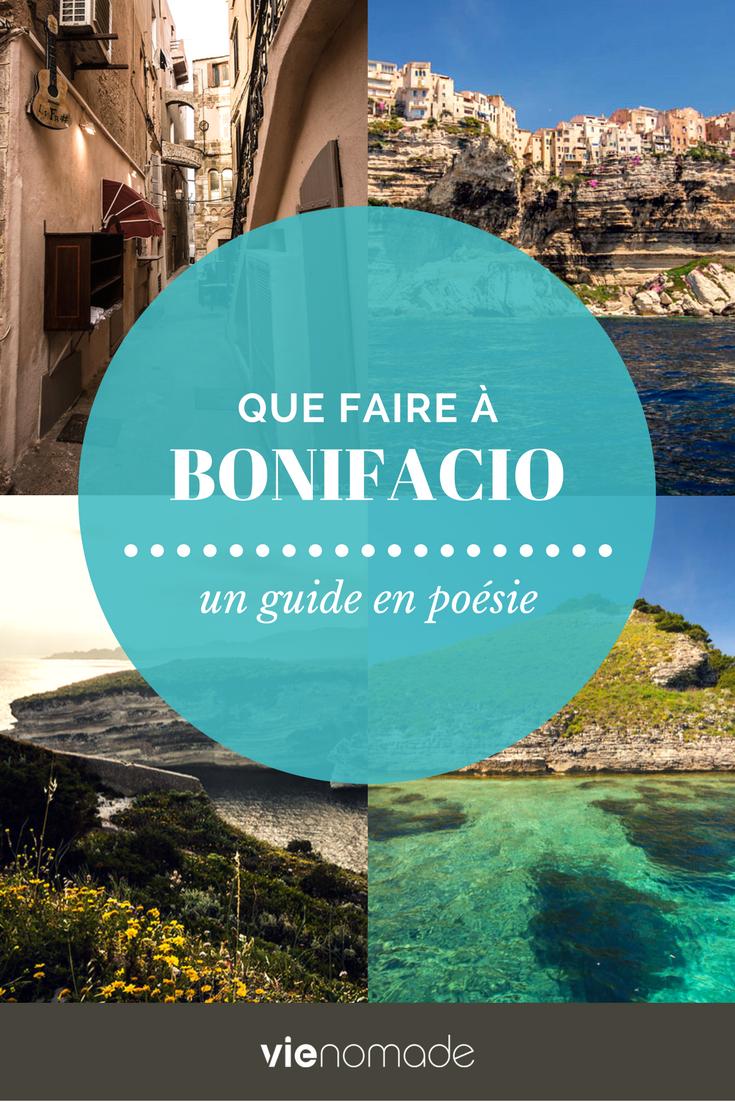 Que faire et que voir à Bonifacio, Corse