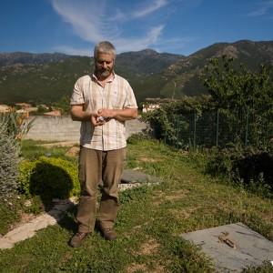 Joseph Brescaglia, safran corse (Ucciani)
