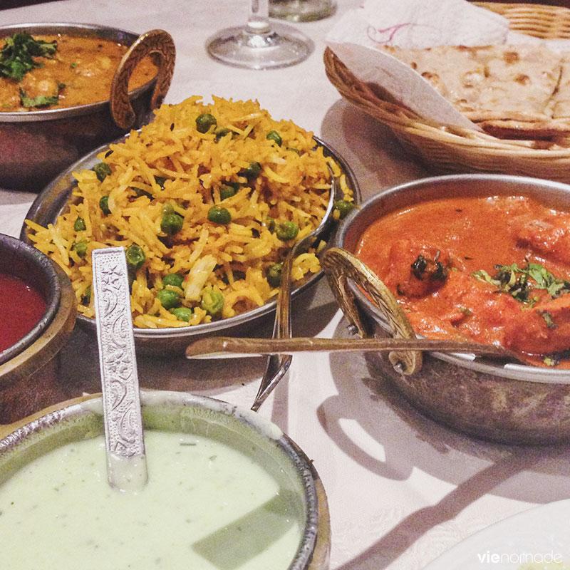Manger indien à Barcelone