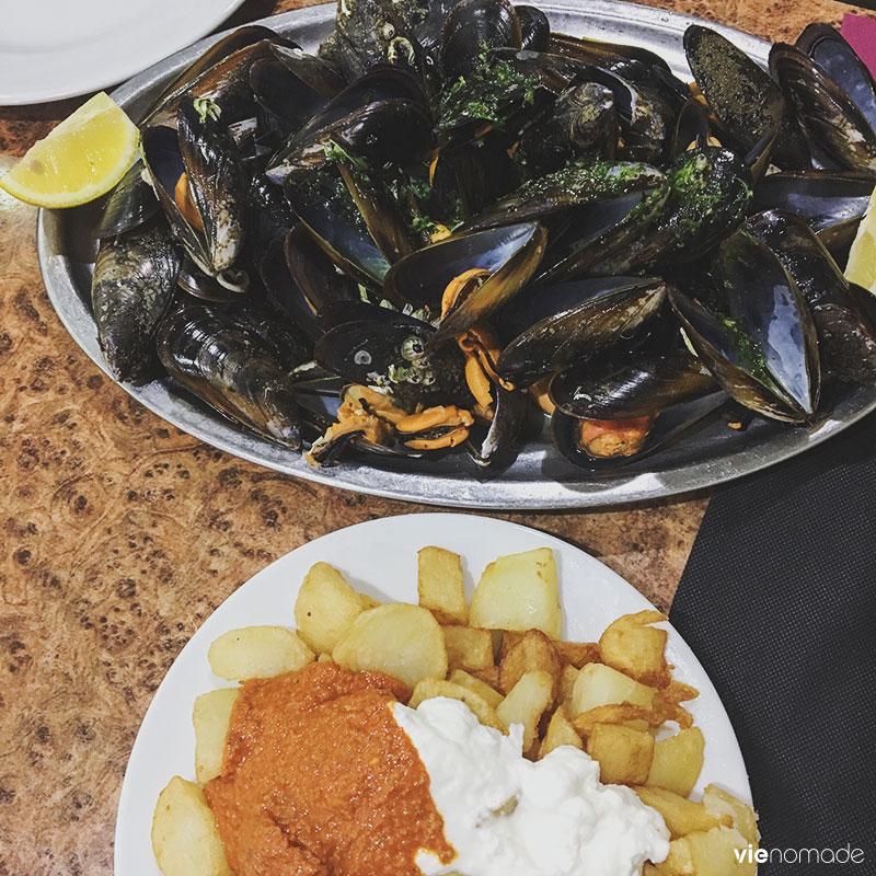 Restaurant à tapas à Barcelone