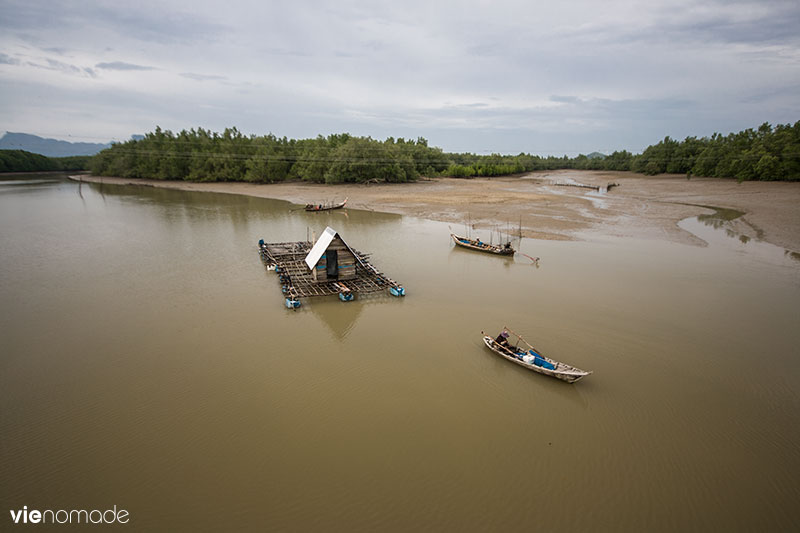 Pêcher à Bang Pat, Thaïlande