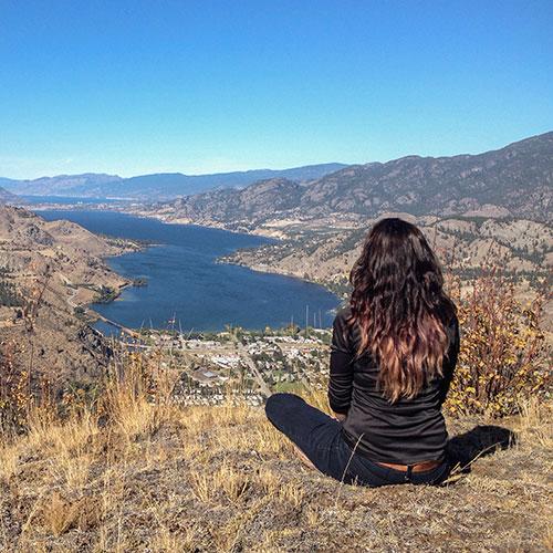 Colombie-Britannique, vallée de l'Okanagan