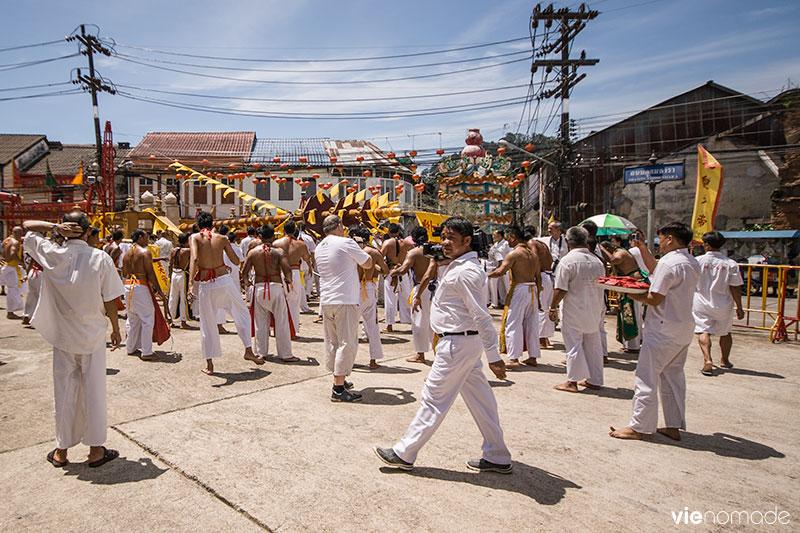 Festival Végétarien à Takua Pa, Thaïlande