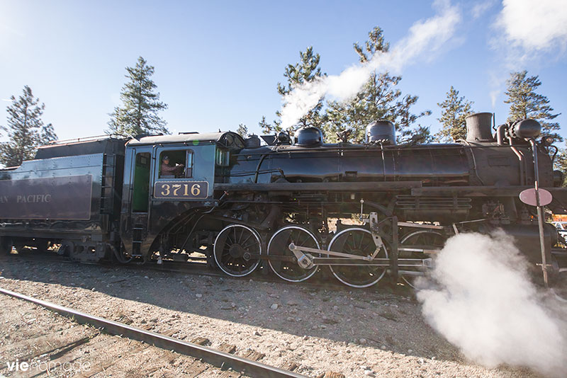 Kettle Valley Railway, le train de l'Okanagan
