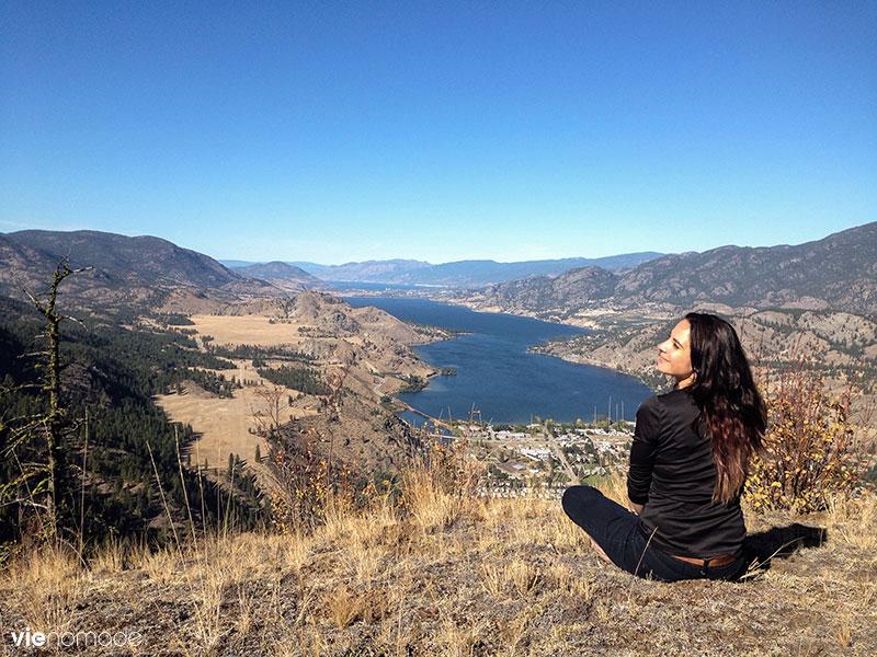 La Vallée de l'Okanagan en hélicoptère