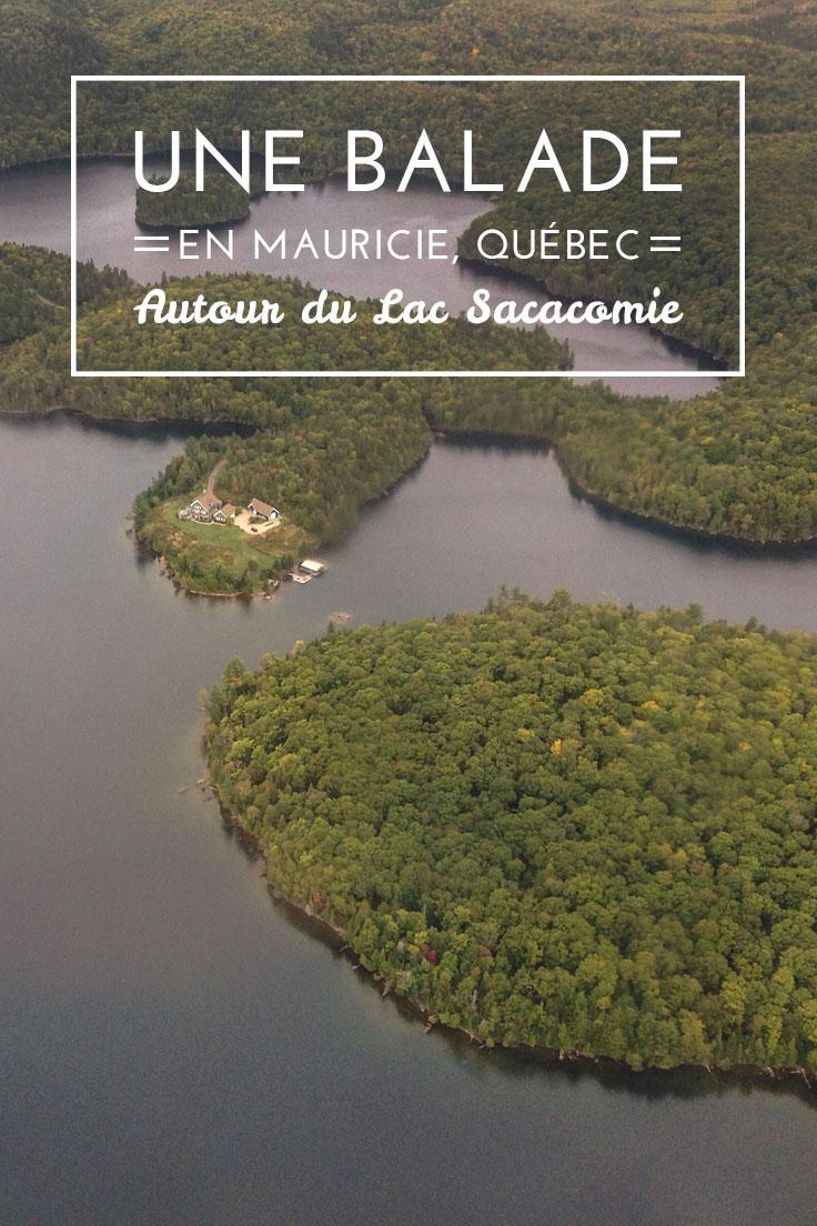 Lac Sacacomie, Mauricie, Québec