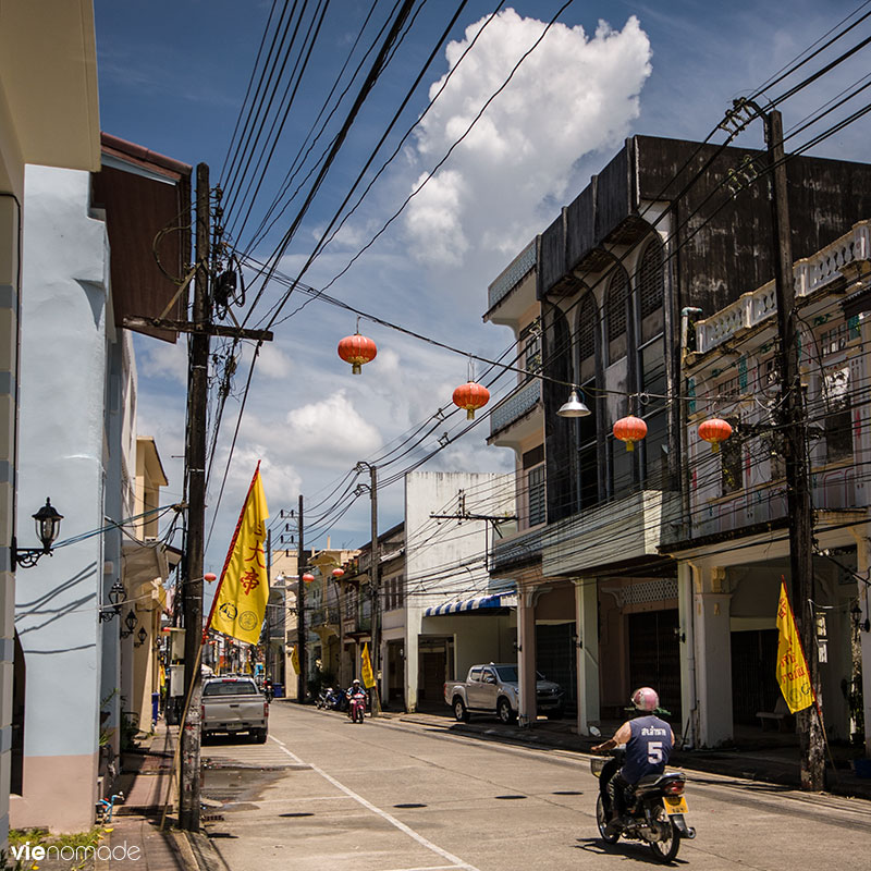 Vieille ville de Takua Pa