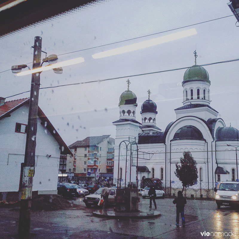 Blaj, arrêt en train entre Cluj-Napoca et Sighisoara