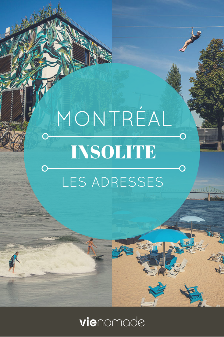 Activités insolites à Montréal: les adresses
