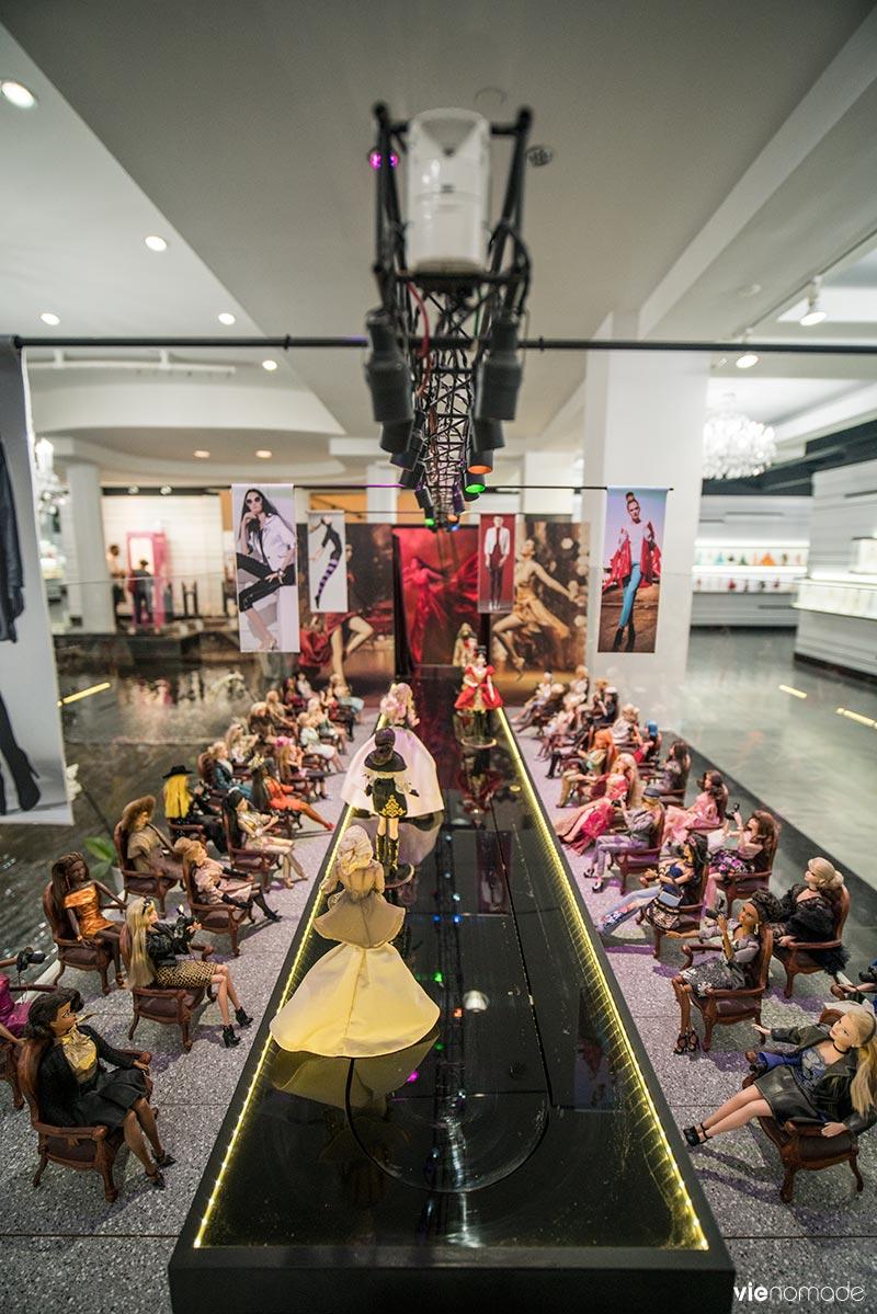 Barbie Expo, le musée Barbie dans les souterrains de Montréal