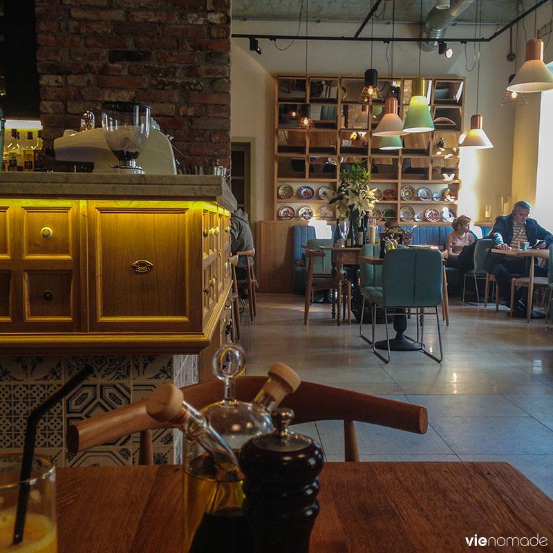 Restaurant Zama, à Cluj-Napoca