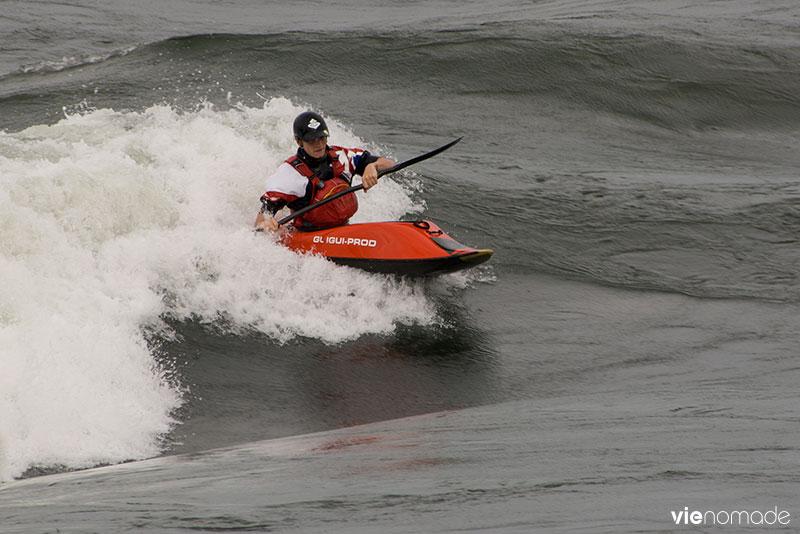 Surf sur le Saint-Laurent, Montréal